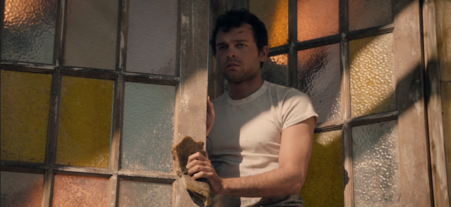 Alden Ehrenreich stars as John the Savage in Brave New World, a nine-episode series on Peacock. His introduction to the futuristic city of New London threatens the stability of life in the dystopian society. The series is an adaptation of the Aldous Huxley book of the same name.